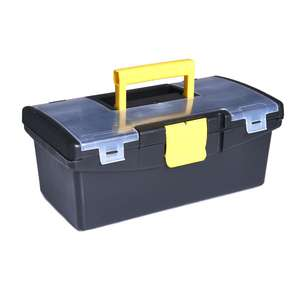 12.5 inch tool box - £1.50 (+£5 Delivery) @ Wilko