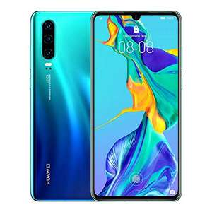 Huawei P30 6GB/128GB - Aurora - looks like new- 'Amazon Renewed - 1 year Guarantee' £184.96 - Dispatched and sold by Stock Must Go on Amazon