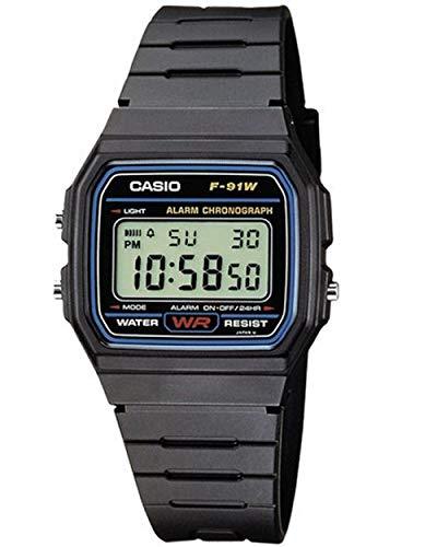 Casio Collection Unisex Digital Watch F-91W £8.20 (+£4.49 non-prime) @ Amazon