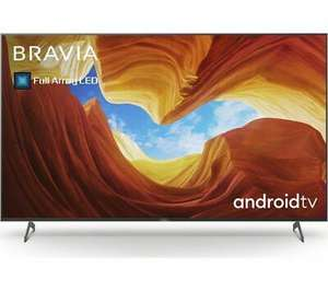 "SONY BRAVIA KE55XH9296BU 55"" Smart 4K Ultra HD HDR LED TV with Google Assistant Free 5 Year Guarantee £730 @ Currys / eBay"
