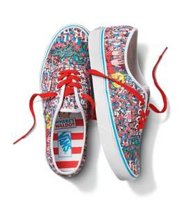 Vans Authentic Where's Wally / Waldo Trainers - £34.99 + Free delivery @ Schuh
