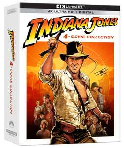 Indiana Jones Collection (4K UHD Blu-Ray) Preorder £63.88 delivered @ Wow HD