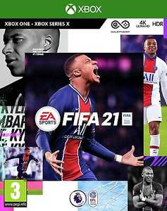 FIFA 21 Microsoft Xbox One Game 3+ Years - £20.99 Free C&C at Selected Stores @ eBay / Argos