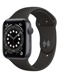 Apple Watch Series 6, 44mm, GPS [2020] – Space Grey Aluminium Case with Black Sport Band (Customer Return) #A169 - £299 @ ElekDirect