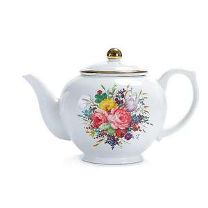 Asda George Home - Multi Bloom Print Teapot £7 (Free Click & Collect) @ Asda (George)