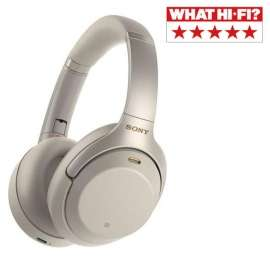 Sony WH1000XM3SCE7 Over Ear Wireless Noise Cancelling Headphones Silver - £249 @ Electric Shop