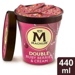 Magnum Double Ruby Red Berries / Gold Caramel Billionaire Ice Cream - £2.10 @ Morrisons