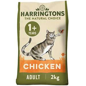 Harringtons Chicken Dry Cat Food 4 x 2KG - £10.32 (+4.49 NP) + Possible 30% S&S coupon @ Amazon