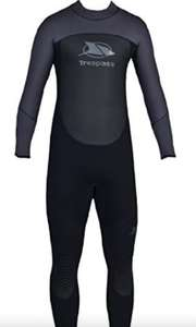 Trespass Diver Mens 5Mm Full Wetsuit for £59.99 - Sold and Shipped by Trespass UK @ Amazon