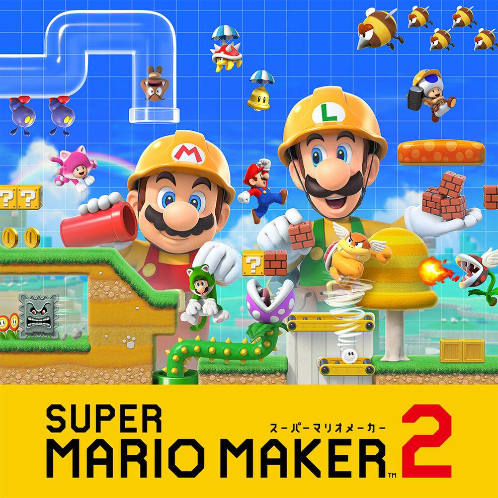 Super Mario Maker 2 (Nintendo Switch) Digital download for 4604 Yen = £30.31 via Japan Nintendo eShop