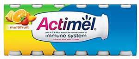 Actimel Multifruit Yogurt Drinks 12x100G - £2 @ Morrisons