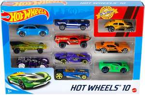 Hot Wheels 54886 10 Car Pack Assortment (Pack May Vary) £10 + £4.49 NP Usually dispatched within 1 to 2 months @ Amazon