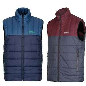 Men's Regatta Quilted Padded Golf Hiking Walking Gilet Bodywarmer Jacket from £14.99 @ eBay/portstewart-clothing-company
