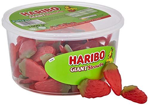 HARIBO Giant Strawberry Bulk Sweets, 1 kg - £4.50 at Iceland