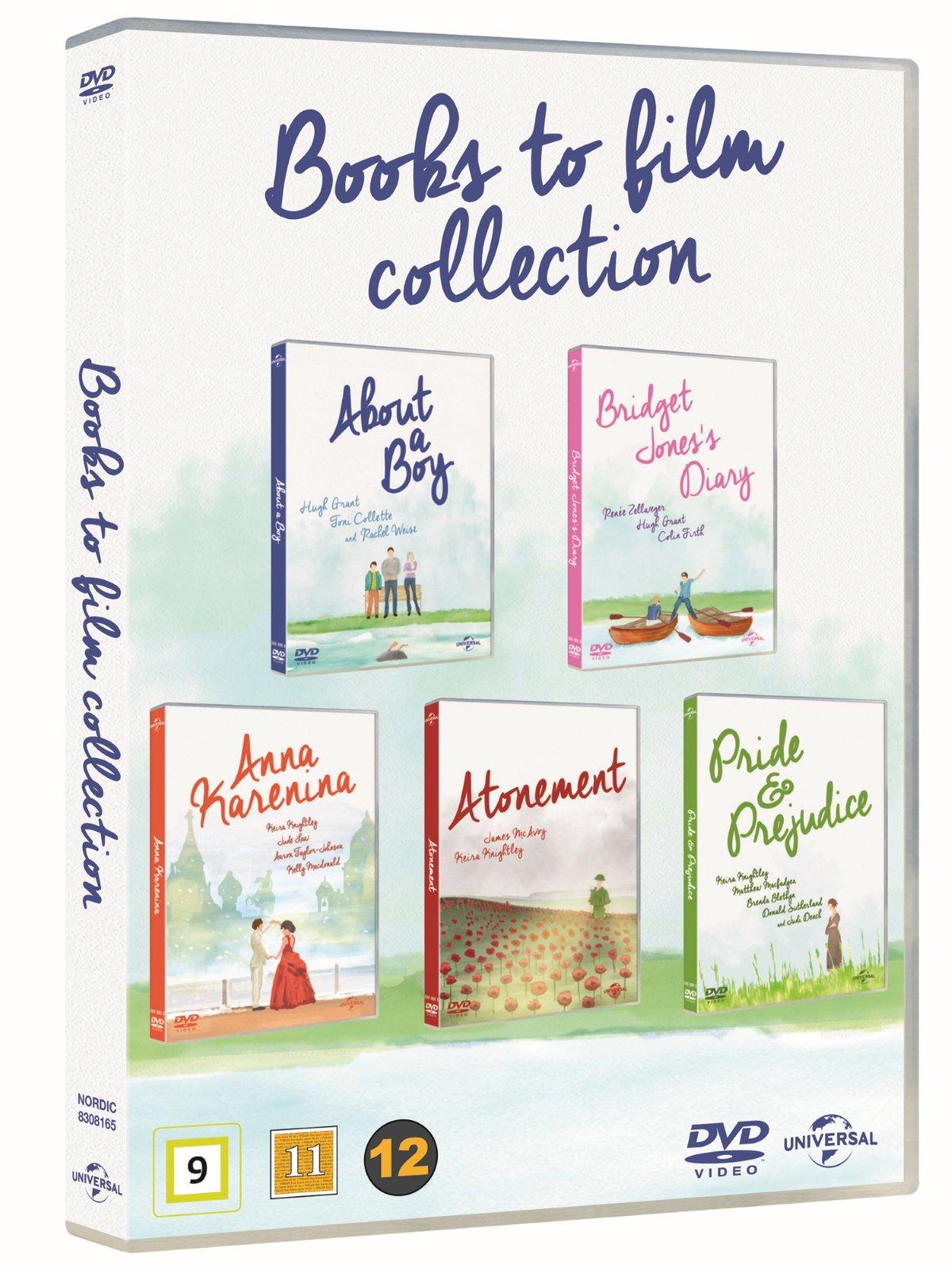 About A Boy/Bridget Jones Diary/Anna Karenina/Atonement/Pride & Prejudice Dvd Set [EU Import] £4.14 delivered @ Rarewaves