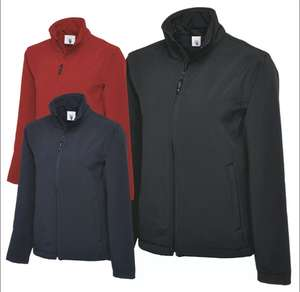 Uneek Clothing Classic Full Zip Soft Shell Jacket for £20.99 at Aka-textiles / Ebay