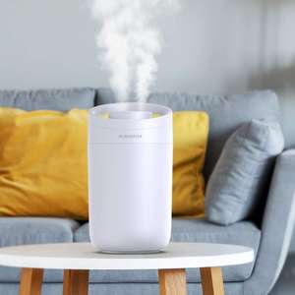 Ultrasonic Humidifier with 3L Water Tank, Whisper-Quiet Operation Auto Shut-Off - £13.37 +£4.49 NP (UK Mainland) Sold by Amazon EU @ Amazon