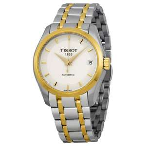Tissot Couturier Powermatic 80 Lady Watch 32mm £249 at TK Maxx