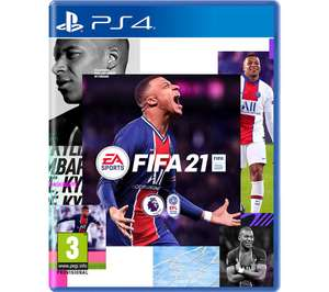 Fifa 21 PS4 disc (free ps5 upgrade) £17.99 at Currys PC World