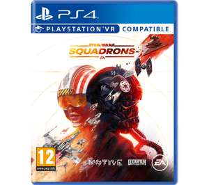 Star Wars Squadrons for PS4 £12.97 at Currys PC World with price match offered