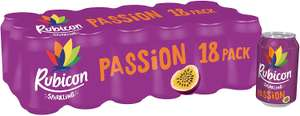Rubicon Passion fizzy cans (pack of 18) £6 / £5.10 S&S Prime at Amazon (+£4.49 non Prime)