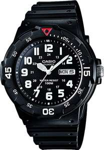Casio Men's Black Resin Strap Watch £14.99 (Free click and collect) at Argos