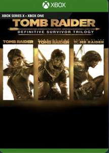 Tomb Raider: Definitive Survivor Trilogy Xbox £17.99 @ CD Keys