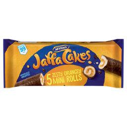 5 Jaffa Cake Zesty Orangey Mini Rolls @ Asda £1