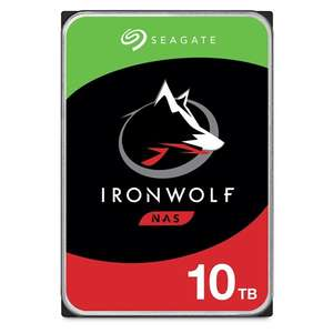 "Seagate 10TB IronWolf NAS Hard Drive 3.5"" SATA 6Gb/s 7200RPM 256MB Cache (CMR) £233.49 at Box.co.uk"