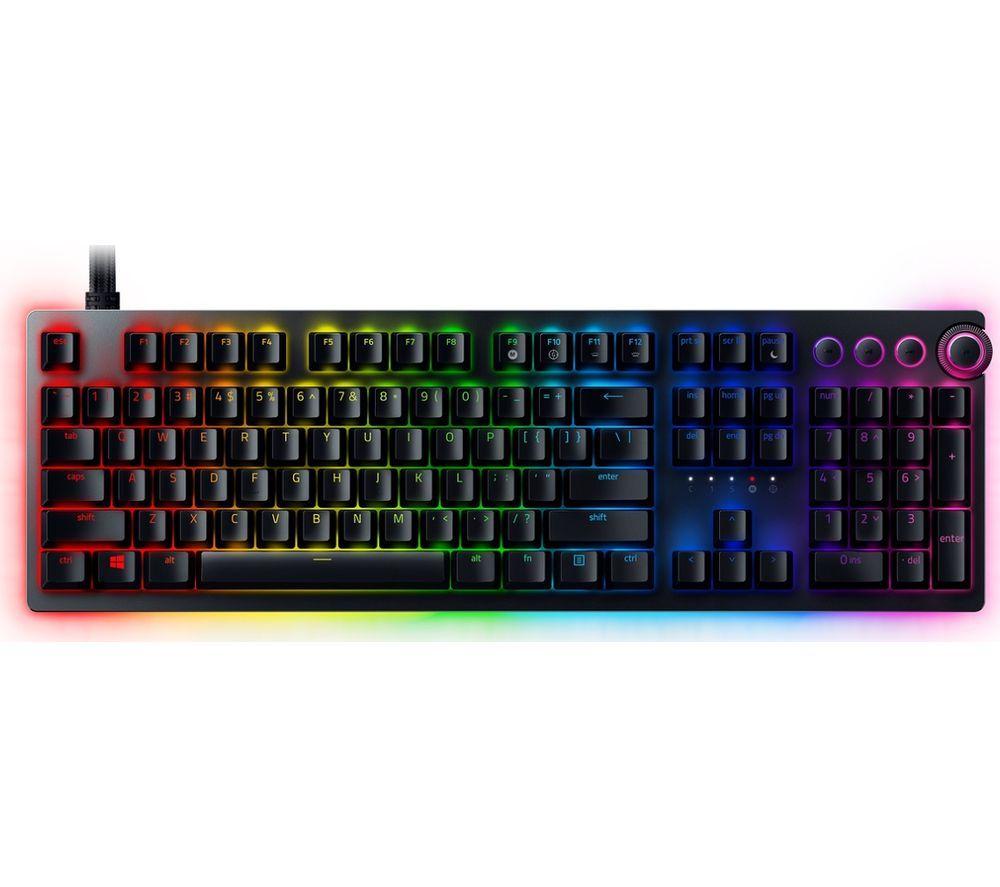 Razer Huntsman V2 Analog - Premium gaming keyboard with analog, optical switches £147 at Amazon