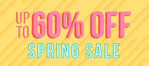 Up to 60% off spring sale on Adult Toys & further 20% off students, NHS or new customers delivery is £3.99 or Free with £35 spend @ Bondara