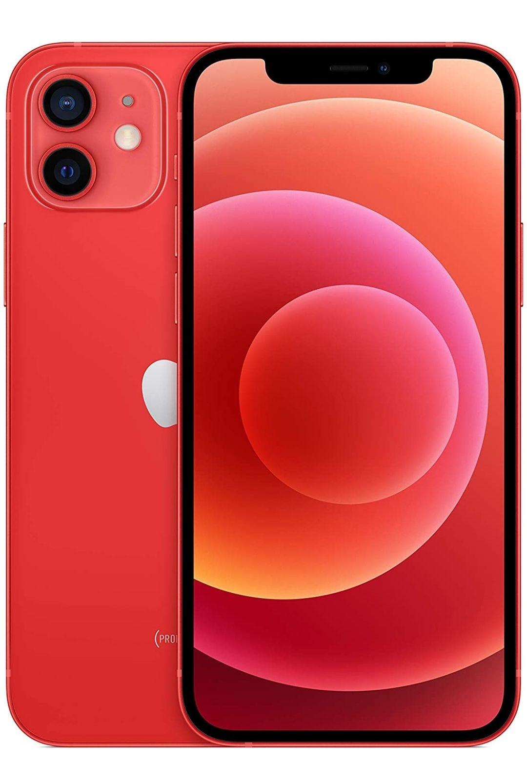 New Apple iPhone 12 (64GB) Blue / Red Smartphone - £699 @ Amazon