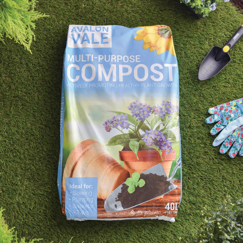 Avalon Vale Multi-Purpose Compost 40L £2.49 @ The Range (Swindon)