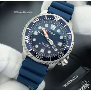 Citizen Promaster Eco-Drive Men's 200M Blue Dial Divers Watch £164.50 @ willowswatches / eBay