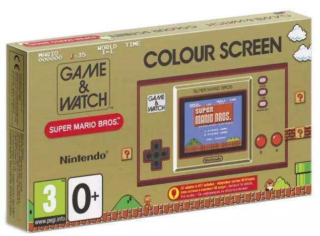 Nintendo: Game and Watch Super Mario Bros Game £34.99 (Free Click & Collect) at Argos