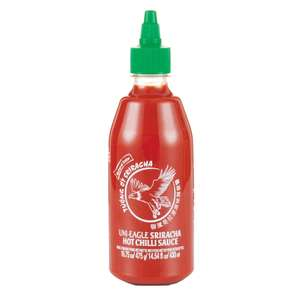 Uni-Eagle Sriracha Hot Chilli Sauce 430ml £1 at Ingleton North Yorkshire Co-Op