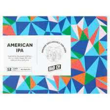 Bad Co American IPA 12 x 330ml cans £6 at Asda in-store Slough