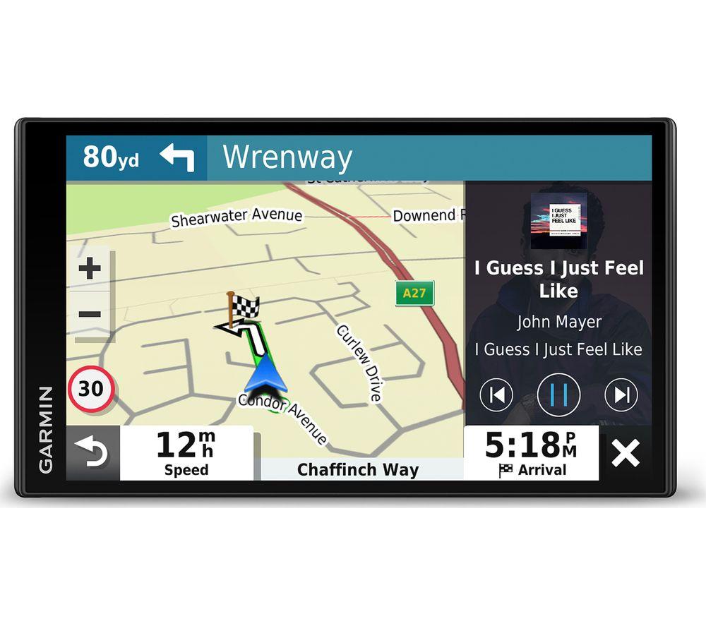 "Garmin DriveSmart 65 MT-S 6.9"" Sat Nav with Amazon Alexa - Full Europe Maps £159 at Currys PC World"