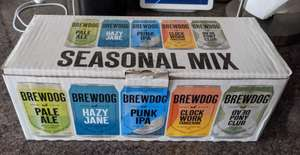Brewdog Seasonal Mix £6 at Morrisons in Bideford