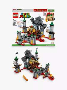 LEGO Mario 71369 Bowser's Castle Boss Battle £64.99 @ John Lewis & partners