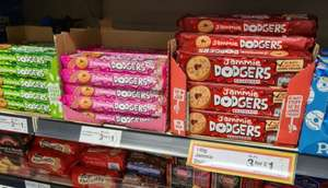 Jammie Dodgers Raspberry/Strawberry/Apple Flavours are 3 for £1 @ Farmfoods Rochdale