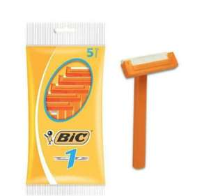 Bic 1 Sensitive Disposable Razor Pack of 5 - 69p (+£4.49 non prime) @ Amazon