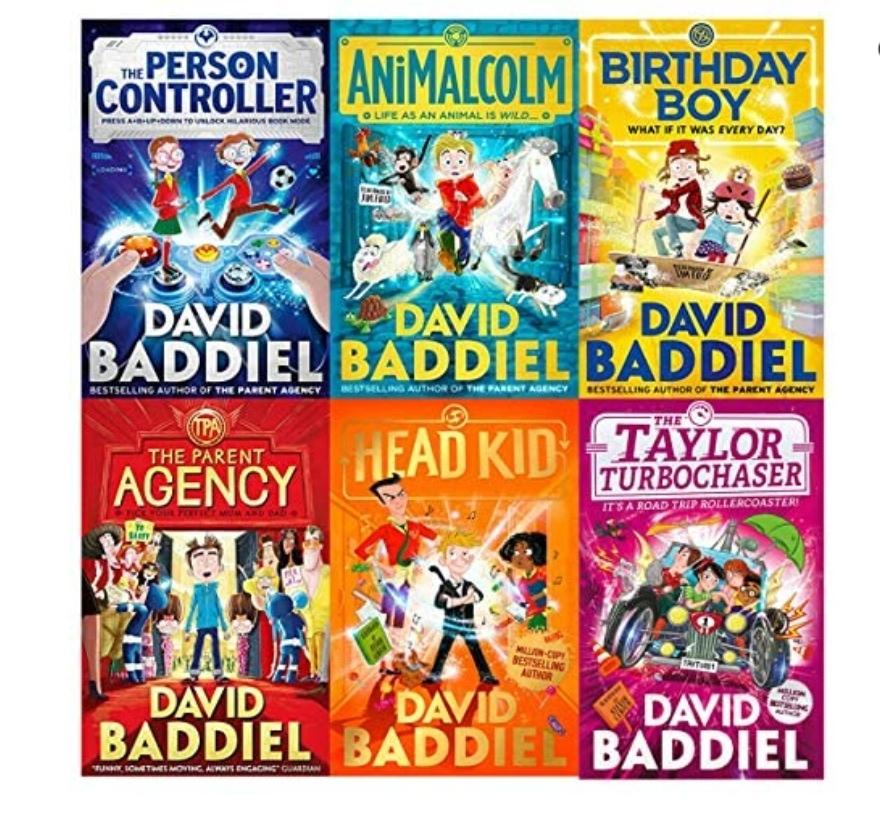 David Baddiel Best Selling Children's Books Kindle Editions 99p each @ Amazon