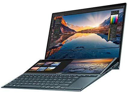 "ASUS ZenBook Duo 14 UX482EG 14"" Full HD (Intel i7-1165G7, MX450, 16 GB RAM, 512 GB SSD - Stylus Pen used v good £1012 @ Amazon warehouse"