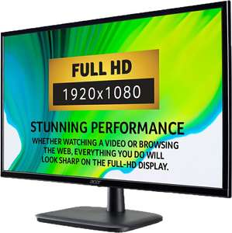Acer EK240YAbi Full HD 23.8″ 75Hz 5ms Monitor with AMD FreeSync – Black £70 @ ElekDirect