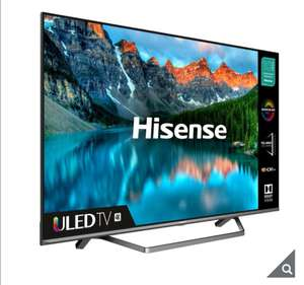 Hisense H55U7QFTUK 55 Inch QLED 4K Ultra HD Smart TV £499.99 at Costco