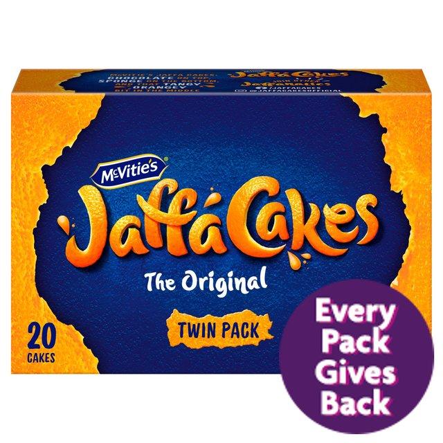 McVitie's Jaffa Cakes Twin Pack 20Pk - 90p @ Morrisons