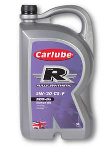 Fully synthetic engine oil 5w 20 c5-f Ford ecoboost £7.50 at Asda Darlington
