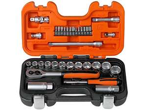 Bahco S330 Socket Set 34 Piece 1/4 and 3/8 Square Drive £27.99 @ Amazon