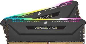 Corsair Vengeance RGB PRO SL 32GB (2x16GB) DDR4 3600MHz C18, Illuminated Desktop Memory Kit 10 Addressable LEDs £163.98 Amazon